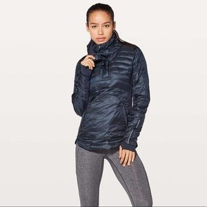 Lululemon down for a run pullover II - inkwell